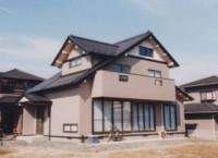 仙台市青葉区の新築住宅 k様邸 小屋裏を有効利用、和風テイストの洒落た住宅