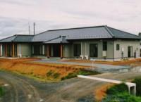 登米市中田町の新築住宅 田園地帯に佇む、平屋の落ち着いた戸建て注文住宅