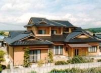 登米市登米町 入母屋屋根が高級感を生む純和風の新築住宅